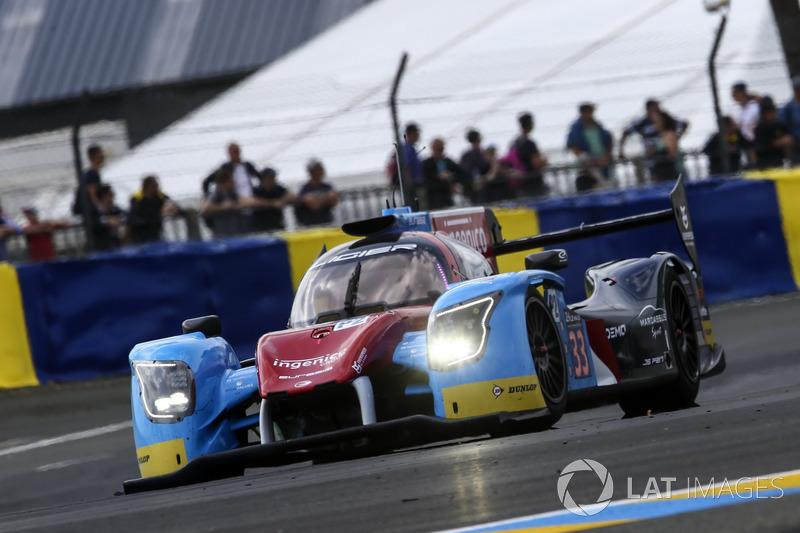 LMP2: #33 Eurasia Motorsport, Ligier JS P217 Gibson