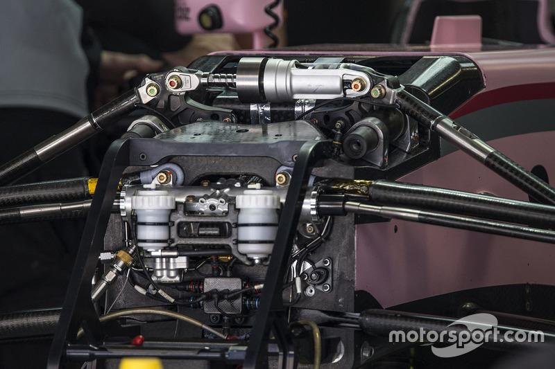 Передня підвіска Force India VJM10