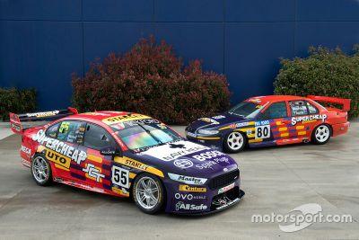 Livrée rétro du Rod Nash Racing