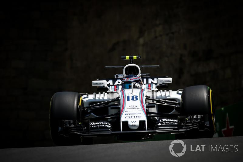 8. Ленс Стролл, Williams FW40