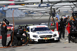 Boxenstopp, Paul Di Resta, Mercedes-AMG Team HWA, Mercedes-AMG C63 DTM