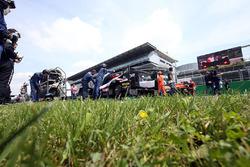 #32 United Autosports, Ligier JSP217 - Gibson: Уилл Оуэн, Юго де Саделер и Филипе Альбукерк