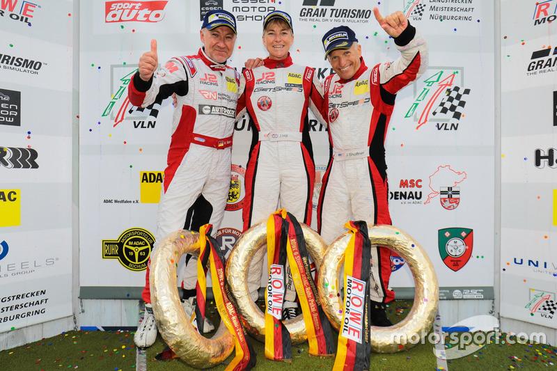 Arno Klasen, Janine Hill, John Shoffner, Porsche 911 GT3 Cup