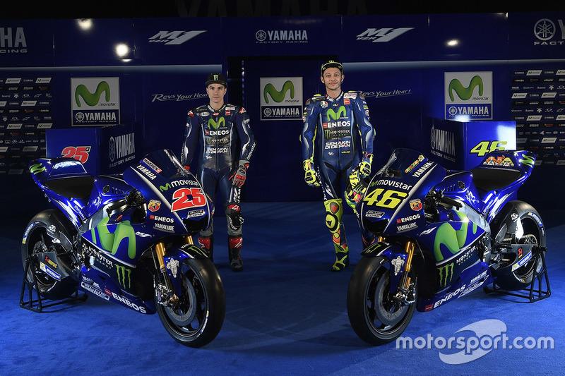 Maverick Viñales et Valentino Rossi, Yamaha Factory Racing