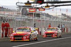 Fabian Coulthard, Tony D'Alberto, Team Penske Ford, Scott McLaughlin, Alexandre Prémat, Team Penske Ford