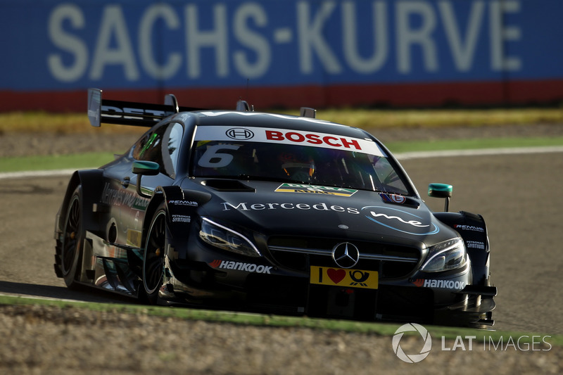 Ausfall: Robert Wickens, Mercedes-AMG Team HWA, Mercedes-AMG C63 DTM
