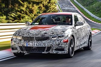 2019 BMW 3 seies teaser