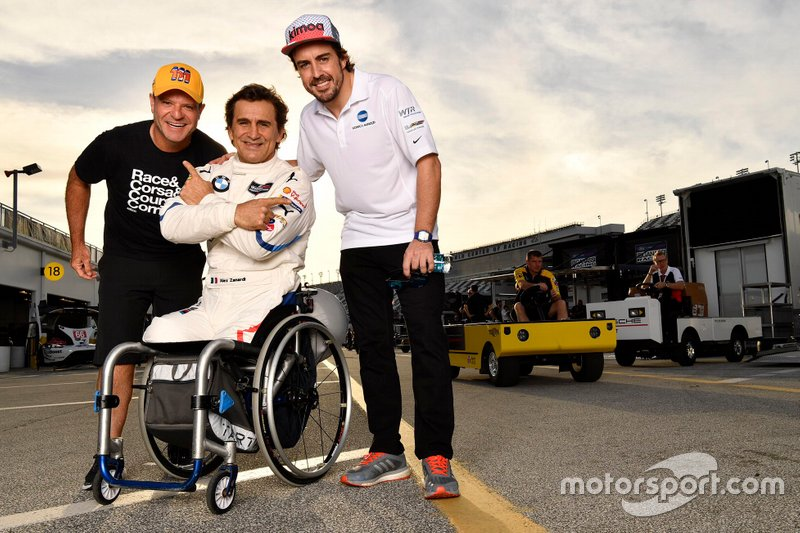Рубенс Баррикелло, JDC/Miller Motorsports, Алекс Дзанарди, BMW Team RLL, Фернандо Алонсо, Wayne Taylor Racing