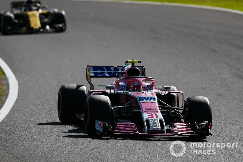 8 місце — Естебан Окон (Франція, Force India) — коефіцієнт 1001,00