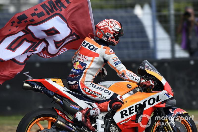 Il vincitore della gara Marc Marquez, Repsol Honda Team