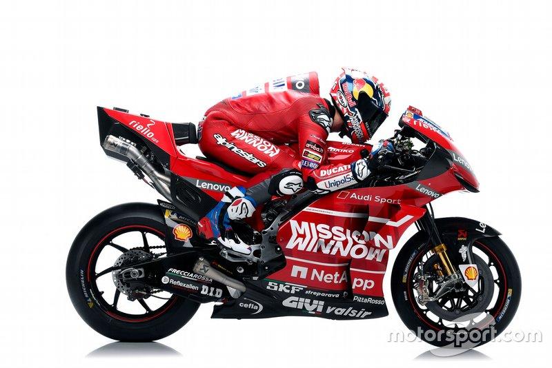 Andrea Dovizioso sulla Ducati Desmosedici GP19