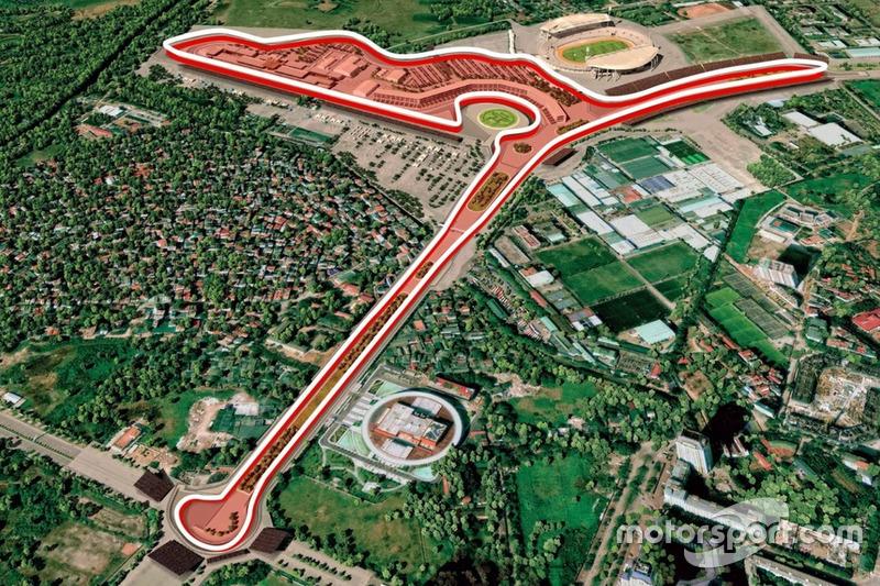 Render sirkuit GP Vietnam 2020