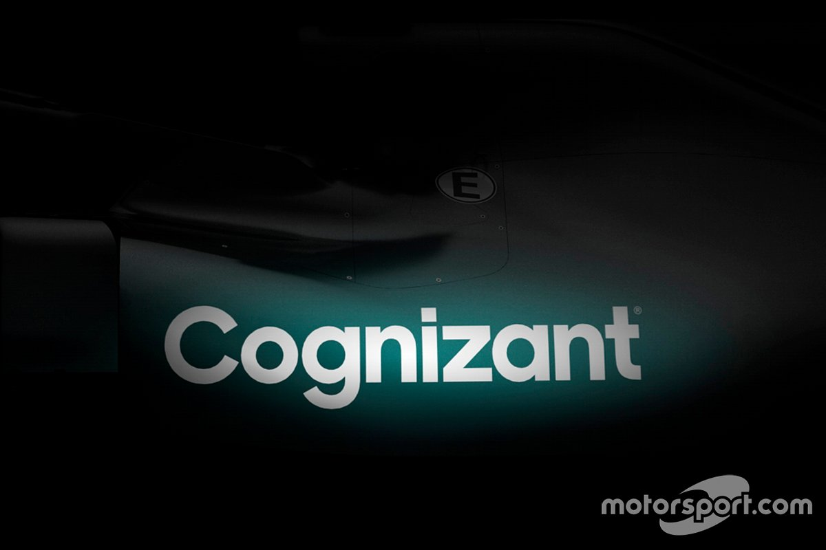 Logo Aston Martin Cognizant F1 Team