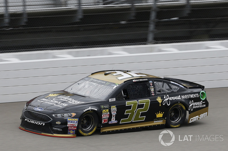 30. Matt DiBenedetto, Go FAS Racing, Ford Fusion Harvest Investments/Properties