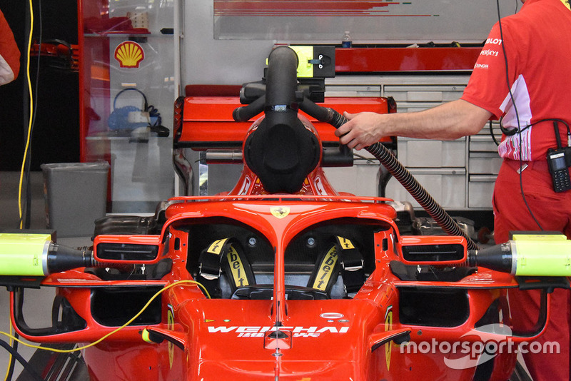 Sistem pendingin Ferrari