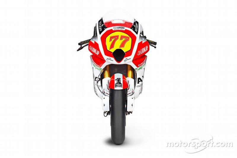 #77 Dominique Aegerter, MV Agusta F2 bike detail