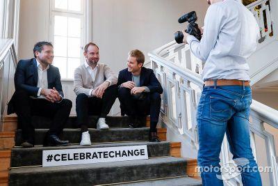 Bekanntgabe: Rosberg beim Greentech Festival