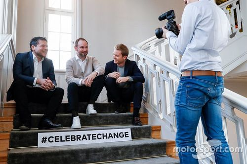 Nico Rosberg Greentech Festival aankondiging