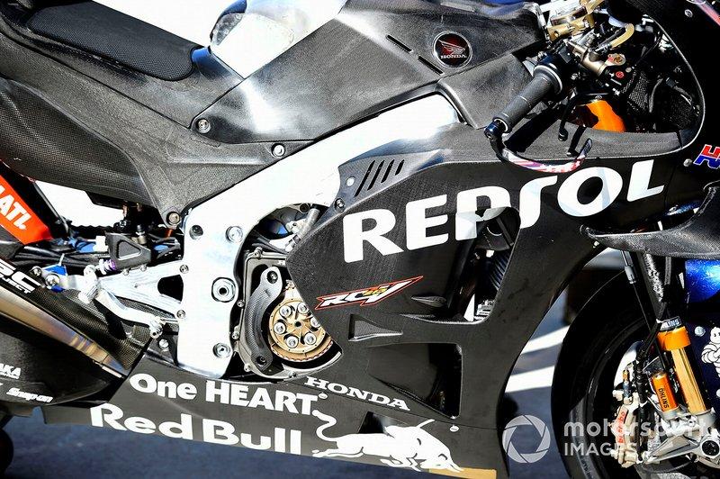 Repsol Honda Team bike detalle