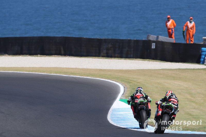 Леон Хеслем, Джонатан Рей, Kawasaki Racing