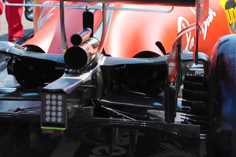 Ferrari SF90 rear detail