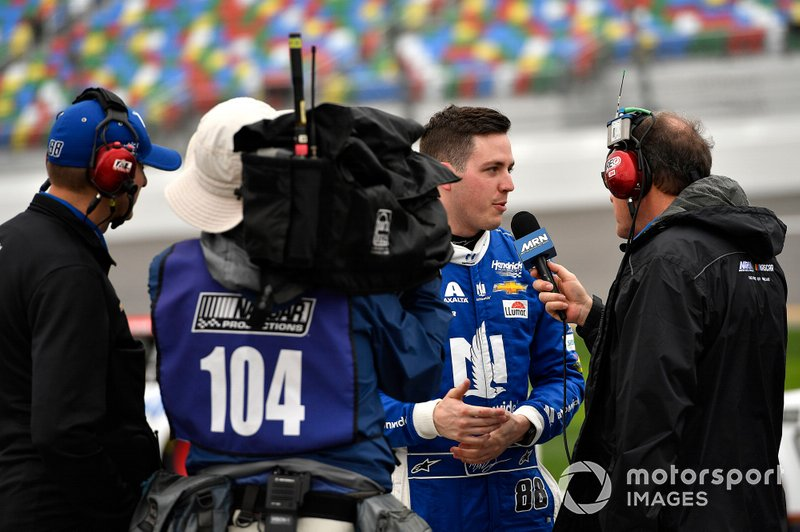 Alex Bowman, Hendrick Motorsports, Chevrolet Camaro Nationwide