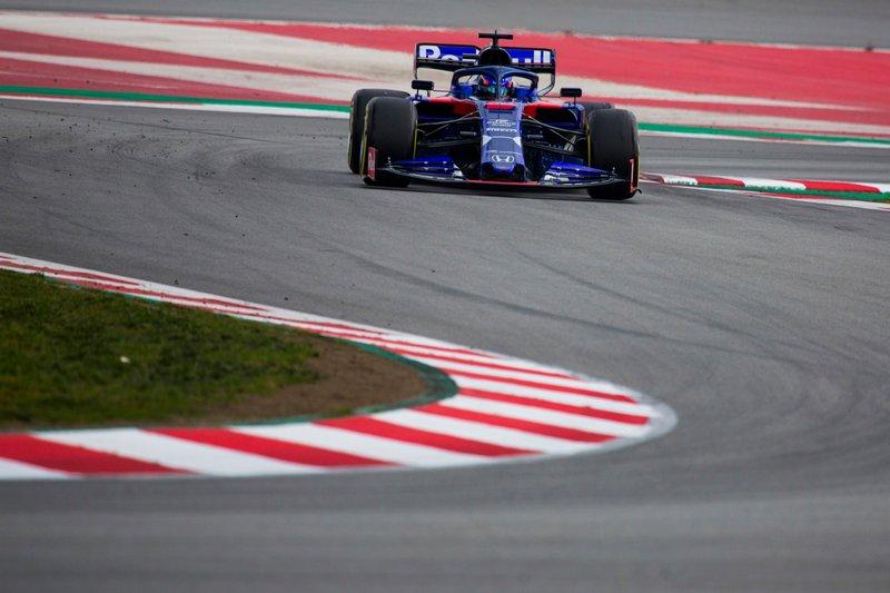 Alexander Albon, Scuderia Toro Rosso STR14
