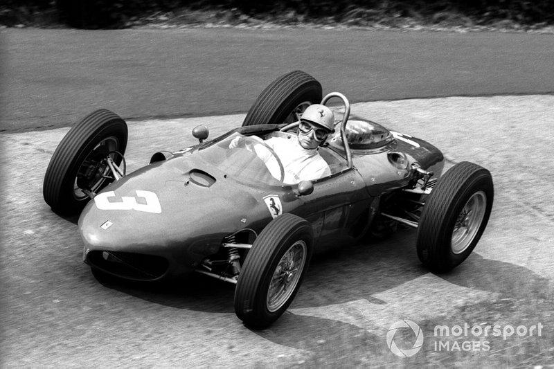 La Ferrari 156 di Ricardo Rodriguez nel 1962 al GP di Germania