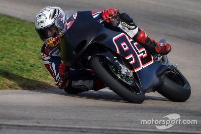 Marc Marquez testet Moto3
