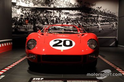 Le Mans au musée Ferrari