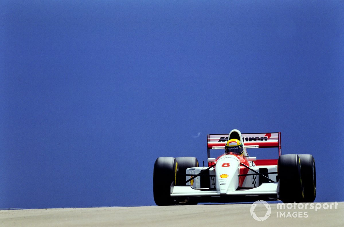 Ayrton Senna, McLaren MP4-8 Ford