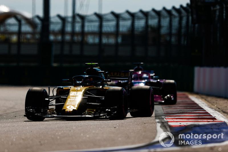 11: Carlos Sainz Jr., Renault Sport F1 Team R.S. 18, sin tiempo en Q2