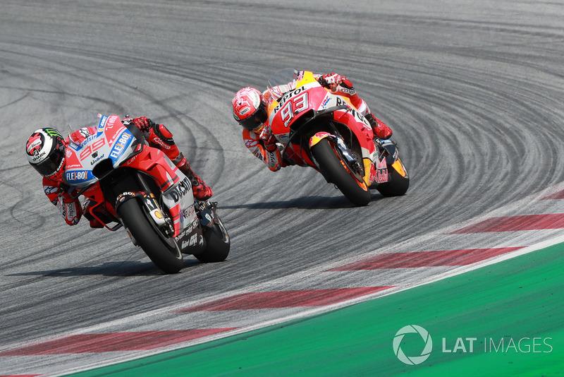 GP de Austria: Jorge Lorenzo, Ducati Team