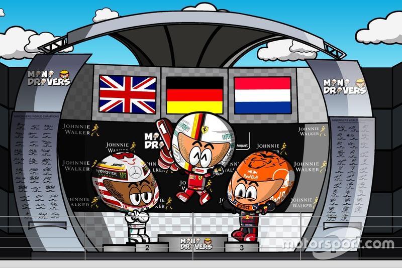 El GP de Bélgica según los MiniDrivers