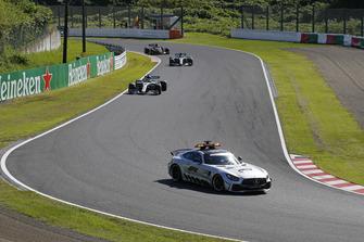 Safety Car leads Lewis Hamilton, Mercedes AMG F1 W09