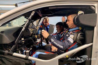 Loeb Hyundai France testing