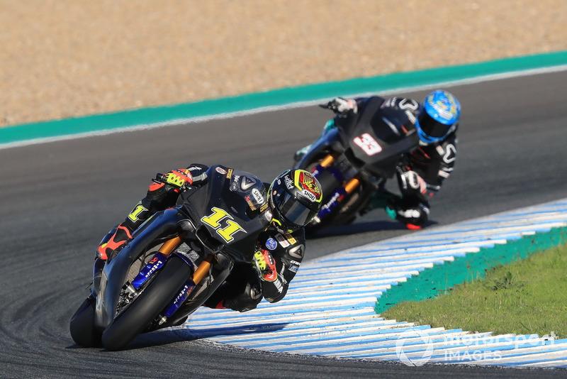 Sandro Cortese, GRT Yamaha WorldSBK Team, Marco Melandri, GRT Yamaha WorldSBK Team