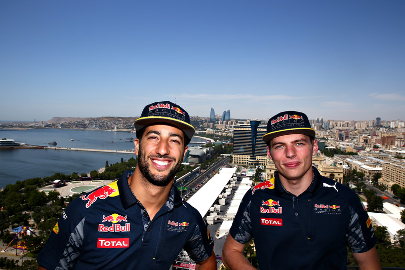 Даніель Ріккардо, Red Bull Racing, Макс Ферстаппен, Red Bull Racing