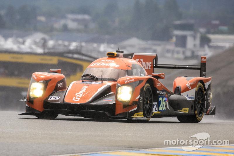 6e: #26 G-Drive Racing Oreca 05 Nissan: Roman Rusinov, Will Stevens, René Rast
