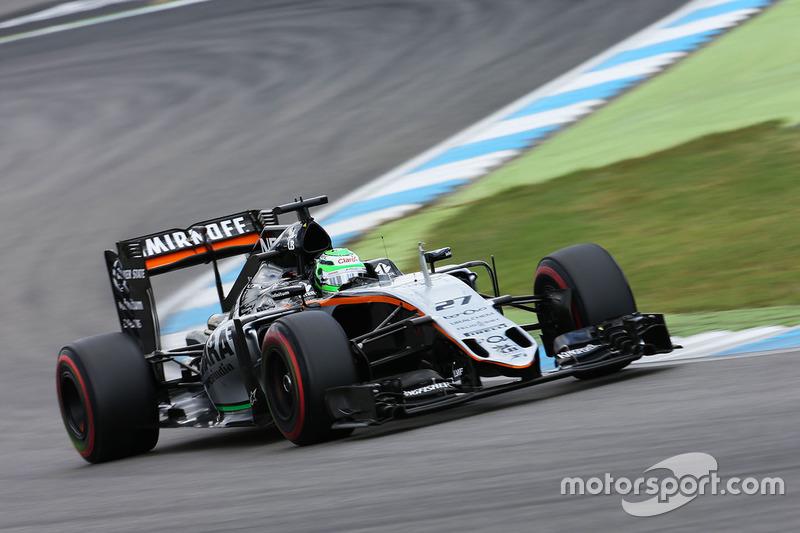 8: Ніко Хюлькенберг, Sahara Force India F1 VJM09 (штраф - втрата однієї позиції)