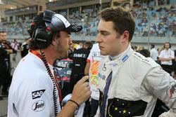 Fernando Alonso, McLaren met Stoffel Vandoorne, McLaren