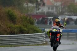 Race winner Valentino Rossi, Repsol Honda Team