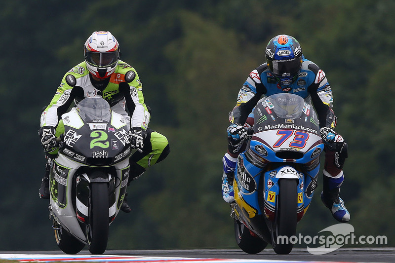 Jesko Raffin, SAG Team, Alex Marquez, Marc VDS