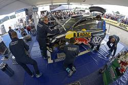 Машина Андреаса Миккельсена и Андерса Егера, Volkswagen Polo WRC, Volkswagen Motorsport
