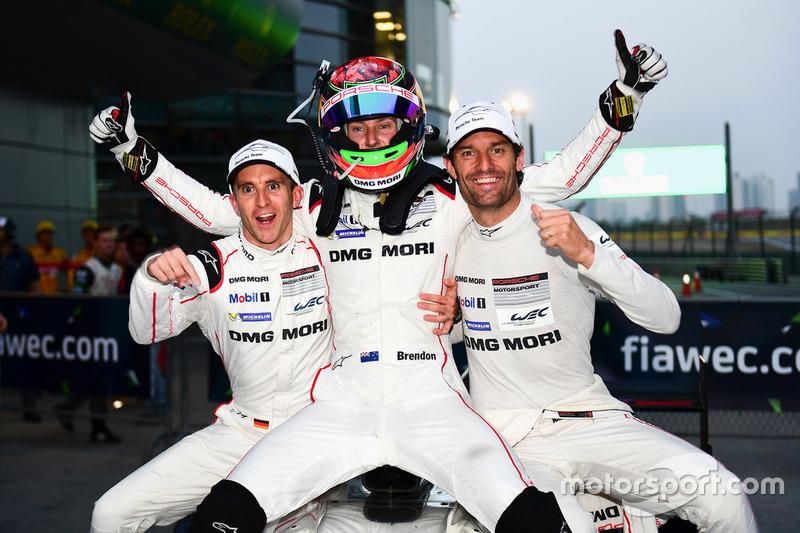 1. #1 Porsche Team, Porsche 919 Hybrid: Timo Bernhard, Mark Webber, Brendon Hartley
