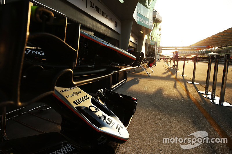 Sahara Force India F1 VJM09: Frontpartie