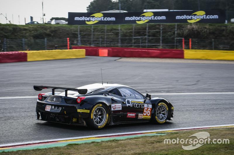 #56 AT Racing, Ferrari F458 Italia: Alexander Talkanitsa Sr., Alexander Talkanitsa Jr., Alessandro Pier Guidi