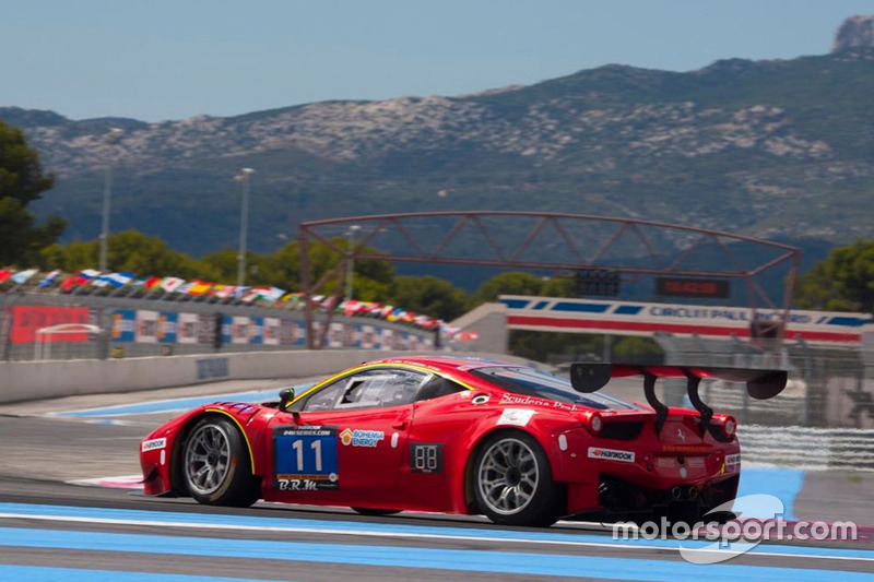 #11 Scuderia Praha, Ferrari 458 Italia GT3: Jiri Pisarik, Josef Král, Matteo Malucelli, Peter Kox