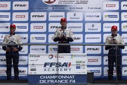podium:Race winner YE Yifei