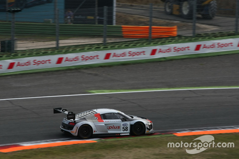 Audi R8LMS-GT3 #58, Audi Sport Italia, Zonzini-Russo